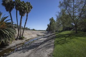 The creek at the north end of Bart Spendlove Memorial park in Mission Viejo