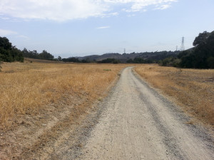 Arroyo Trabuco Trail-heading south