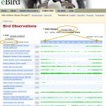 ebird4 Explore Data page