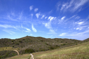 Mule Deer Trail - Photo taken at Riley Wilderness Park in Coto De Caza, CA on March 12, 2012