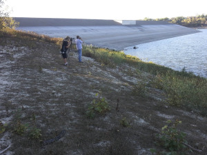 at the Oso Reservoir Dam on November 28, 2014