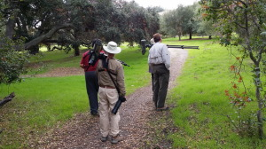 Birders at the CBC San Juan Capistrano Christmas Bird Count